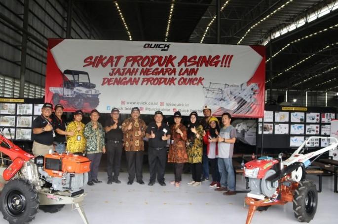 BSN Apresiasi Industri Alsintan di Yogyakarta Terapkan SNI Sukarela