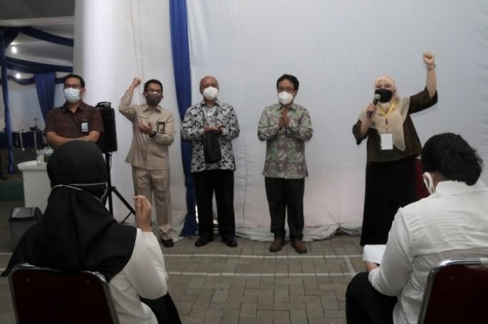 Kepala BSN Semangati Peserta Tes SKD CASN BSN 2021
