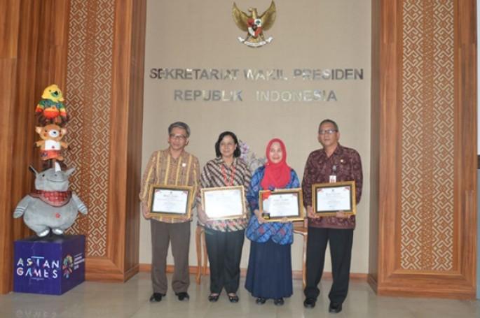 BSN Raih Penghargaan di Keterbukaan Layanan Informasi Publik