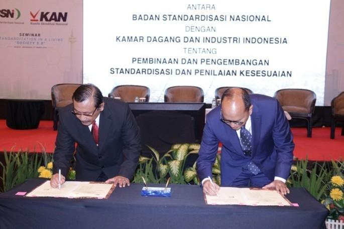 BSN Jalin MoU dengan KADIN Indonesia