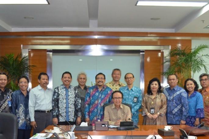 Audiensi BSN dengan Kementerian Kelautan dan Perikanan