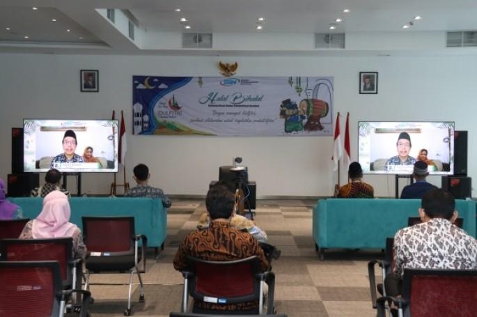Jalin Silaturahim, Keluarga Besar BSN Siap Tingkatkan Produktivitas Kerja