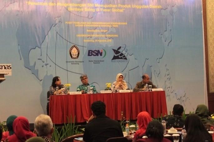 BSN Bekerjasama dengan UNDIP Menyelenggarakan PPIS di Semarang