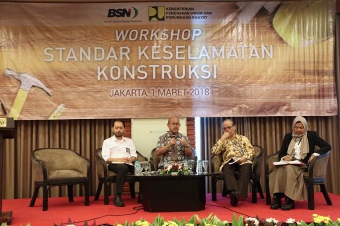 BSN Gelar Workshop Standar Keselamatan Konstruksi