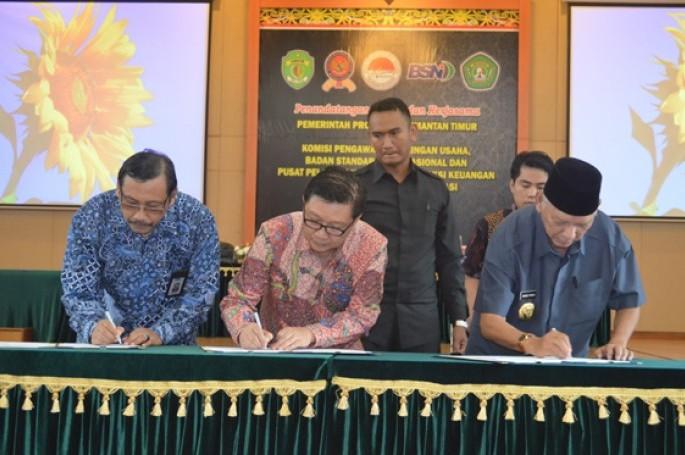 BSN Tandatangani MoU dengan Pemprov Kalimantan Timur