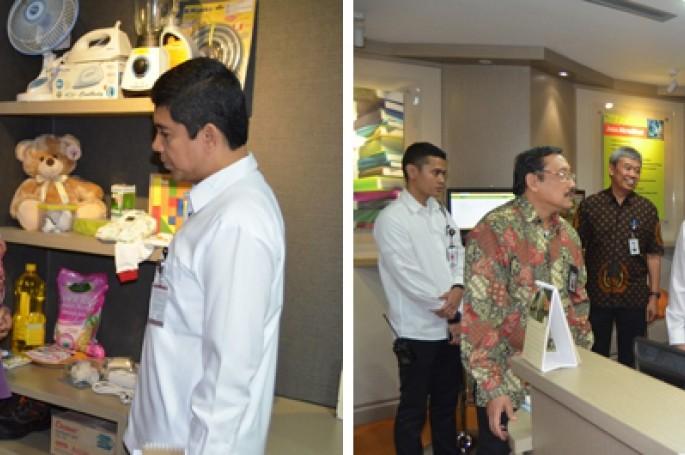 MenPAN dan RB Kunjungi Layanan Informasi Terpadu BSN