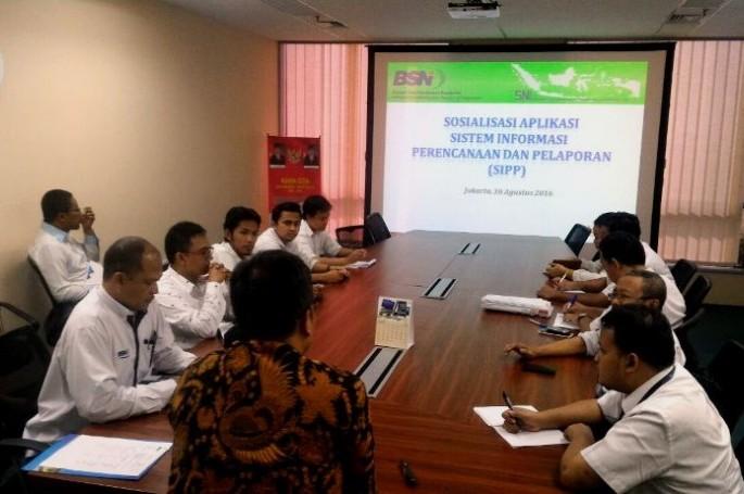 Percepat Pelaporan, BSN Sosialisasikan Aplikasi SIPP