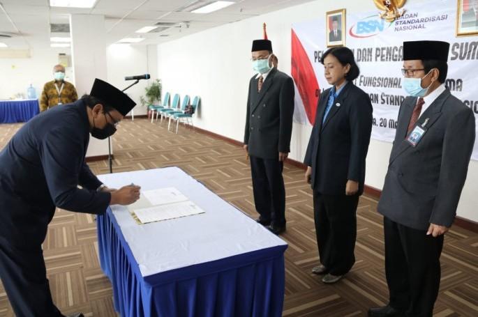 Amanah Baru Prof. Bambang Prasetya di BSN