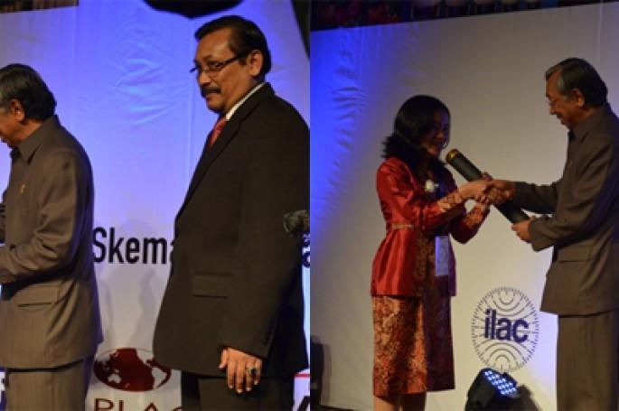 Pertemuan Teknis Laboratorium, Lembaga Inspeksi dan Lembaga Sertifikasi bertema �Peranan Akreditasi  Dalam Memfasilitasi Perdagangan Dan Skema Penilaian Kesesuaian Dalam Penguatan Daya Saing Perekonomian� di Jakarta (11/06/2013).