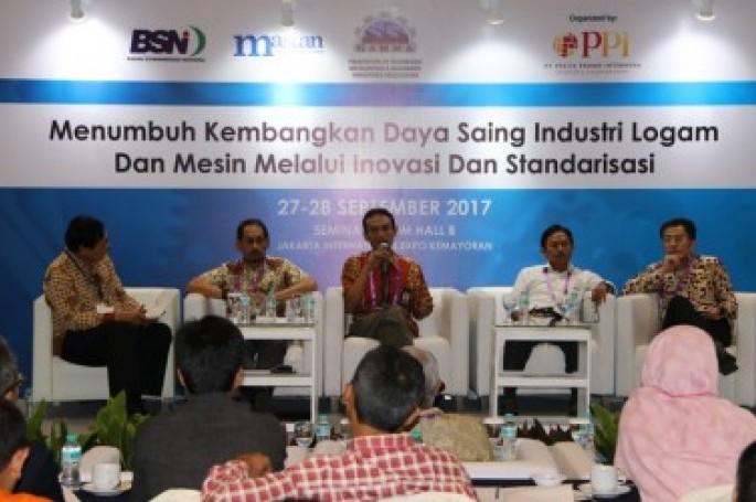 Tumbuhkembangkan Daya Saing industri Manufaktur Logam dan Mesin melalui Inovasi dan Standardisasi