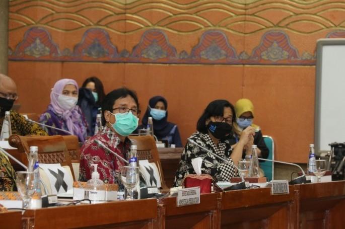 Rapat Dengar Pendapat BSN dengan Komisi VI DPR-RI