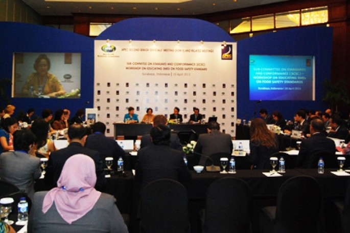 Workshop Food Safety dalam rangka SOM APEC 2013