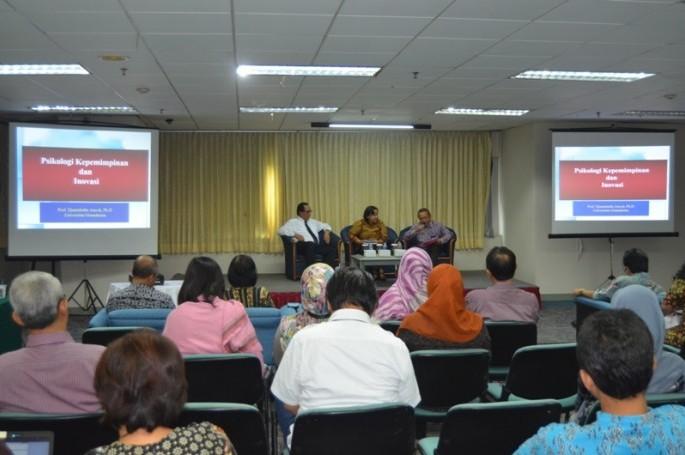 Sharing Knowledge Berbasis Buku Psikologi Kepemimpinan dan Inovasi