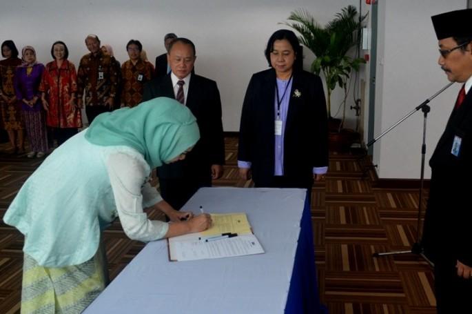 Dr. Zakiyah dilantik menjadi Deputi Bidang Informasi dan Pemasyarakatan Standardisasi-BSN
