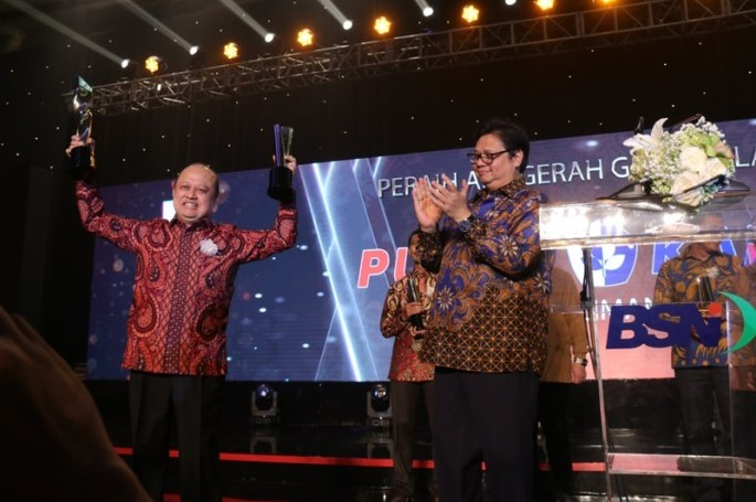 56 Perusahaan/Organisasi Terbaik Penerap SNI, Raih SNI Award