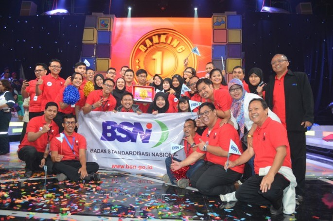 BSN Mendapat Ranking 1