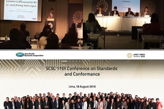Rangkaian Workshop Standar dan Penilaian kesesuaian untuk fasilitasi perdagangan antar Negara ekonomi APEC dalam APEC Senior Official Meeting 3 (SOM 3), di Lima, Peru 2016