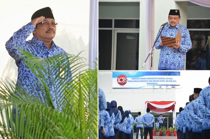 BSN Turut Mengikuti Upacara Bendera Memnperingati Hari Kebangkitan Nasional