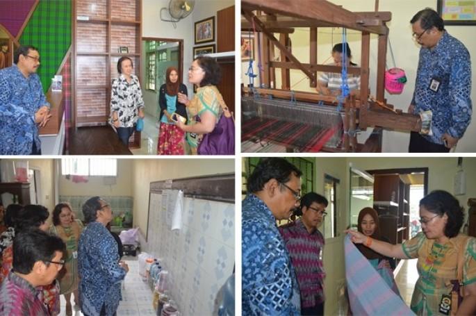 BSN Himpun Informasi Kesiapan Industri Hadapi MEA :  Rumah Tenun Samarinda