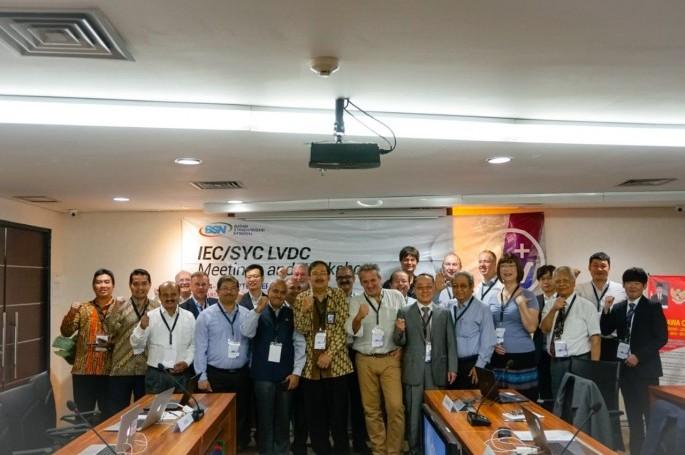 BSN Tuan Rumah Pertemuan Internasional System Committee Low Voltage Direct Current (SyC LVDC)