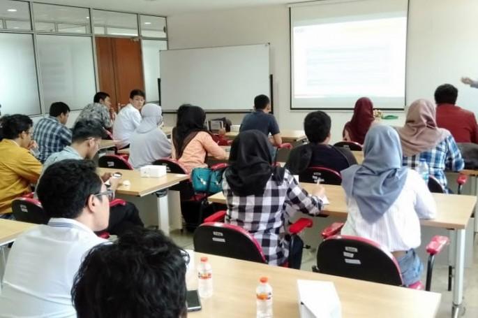 Kunjungan Mahasiswa Jurusan Fisika Medis Universitas Indonesia ke Laboratorium SNSU BSN