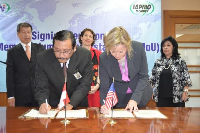 BSN tandatangani kerjasama dengan IAPMO (Kamis, 28 Maret 2013, Kantor BSN, Jakarta)