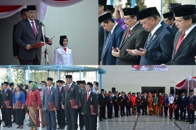 BSN Memperingati Hari Ulang Tahun Ke-71 Republik Indonesia