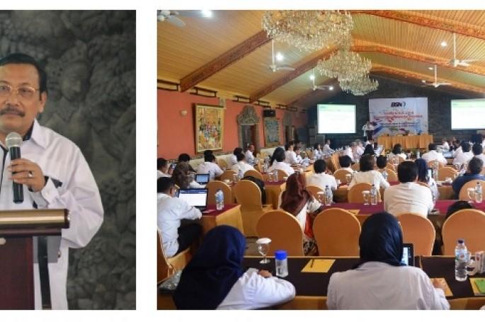 Rapat Kerja BSN 2016; Meningkatkan Peran SNI Dalam Meraih Peluang Di Pasar Global