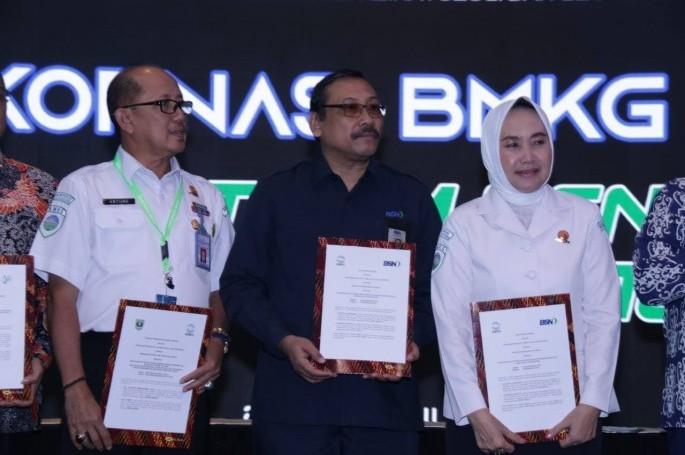 BSN Bekerjasama dengan BMKG